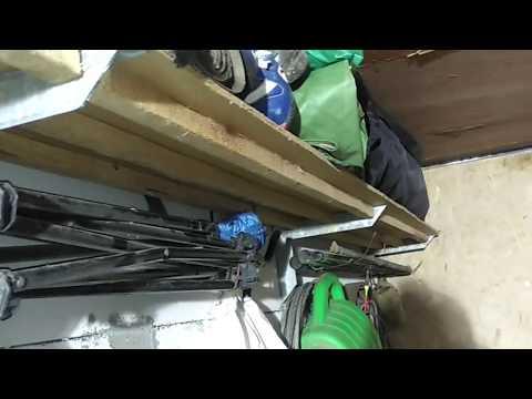 Полка в гараж-бюджетно, качественно и креативно
