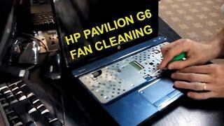 hp pavilion g6 fan cleaning