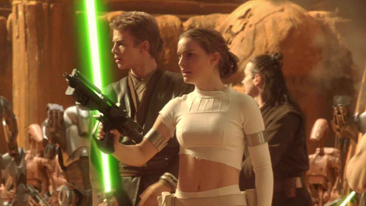 star wars padm amidala et anakin skywalker princesse leia et han solo youtube