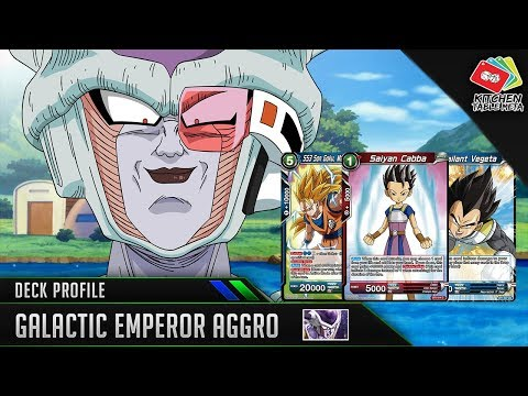 Dragon Ball Super Card Game [DBS TCG] Frieza Galactic Emperor Aggro Deck Profile