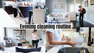 EVENING CLEANING ROUTINE | CLEAN WITH ME | Nesting Story