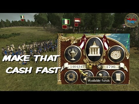 GET RICH QUICK IN EMPIRE TOTAL WAR MAKE THAT CASH ETW TUTORIAL VISUAL GUIDE ECONOMY