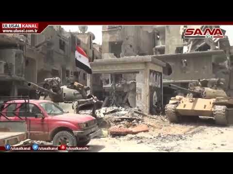 Irak, IŞİD'in Suriye'deki hedeflerini vurdu