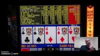 Las Vegas Video Poker Scores