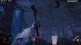 Dead by Daylight NEW PATCH RANK 1 HUNTRESS! - THAT FIRST SHOT WAS...