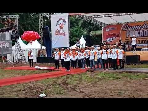 Yel-yel Pilkada Kab. Tangerang 2018 Dari PPK & PPS Kec. Cisauk