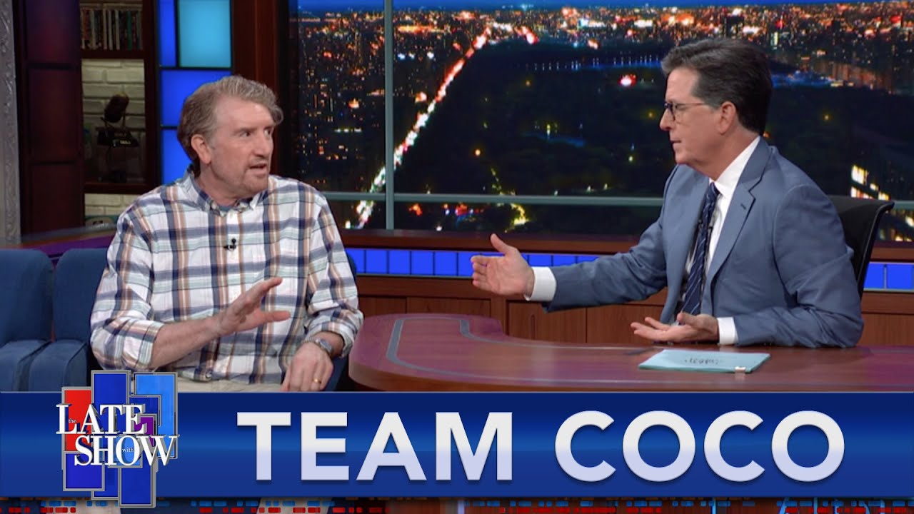 Download Colbert And Stack Dish Dirt About Their Friend Conan O'Brien