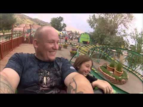 Python Pit Roller Coaster at Heritage Square Golden Colorado