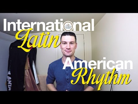 DCR Tutorial - Men's Medium Length LATIN / RHYTHM Hairstyle Tutorial