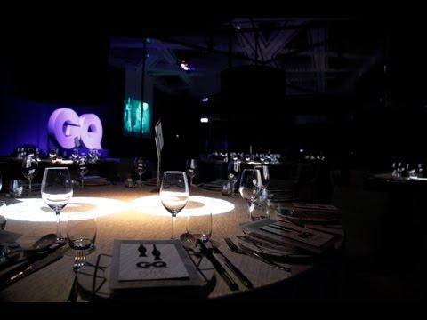 這一夜很GQ 2012 風格男人大賞頒獎花序