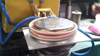 cookware encapsuled bottom induction brazing with annealing device