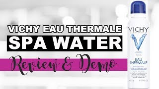 fF: Product Review Vichy Eau Thermale Spa Water