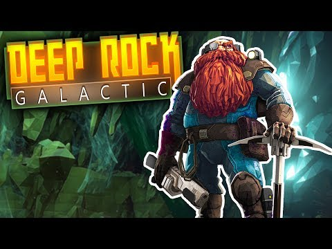 Deep Rock Galactic - Space Mining Dwarves & Man-eating Spiders! - Deep Rock Galactic Multiplayer