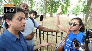 P1 - Adult 18! Mansur Vs Agnostic Girl | Speakers Corner | Hyde Park