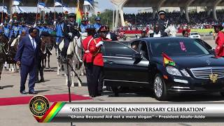 61st Independence Anniversary Celebrations