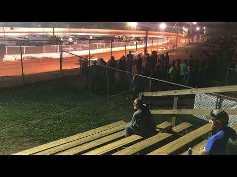 04/28/2018 East Lincoln Speedway Stock 4 Feature #99 Hilton 2nd