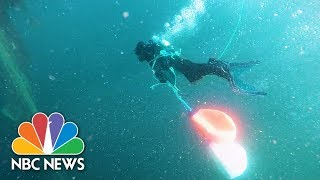 Hunting For Ghost Gear: What Happens When Fishing Nets Go Rogue | NBC News