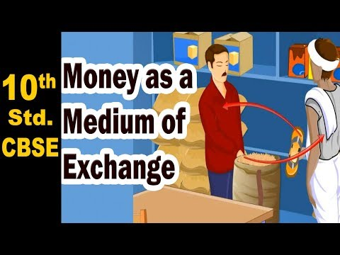 Money as a Medium of Exchange | 10th Std | Economics | CBSE | Home Revise