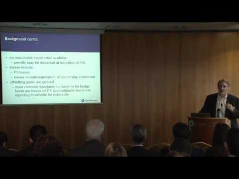 International Tax For Funds Seminar - Paul Beesy