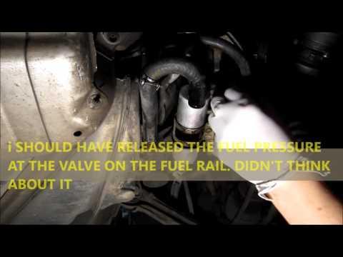 Mercedes Benz W202 C280 Fuel Pump Hoses Leak