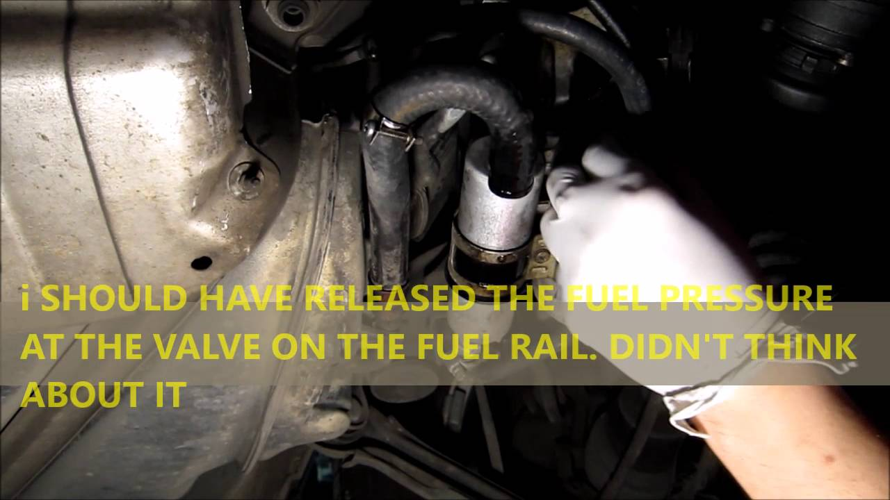 hight resolution of mercedes benz w202 c280 fuel pump hoses leak youtube mercedes benz 2006 c280 fuel system diagram
