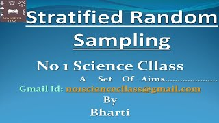 Stratified Random Sampling|Allocation of Sample Size in Stratified Sampling| in Hindi|ISS Exam