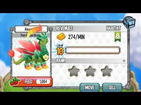 How To Breed Pure Nature Dragon 100% Real! Dragon City Mobile! WbangcaHD! [Special Dragon]