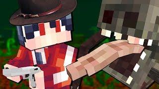 - СТРАШНЫЙ МОНСТР НАПАЛ НА МЕНЯ ИСКАТЕЛЬ СОКРОВИЩ 0 Выживание и Приключение в Майнкрафт Minecraft