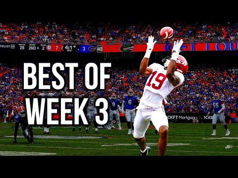 Best of Week 3 of the 2021 College Football Season - Part 1 ᴴᴰ