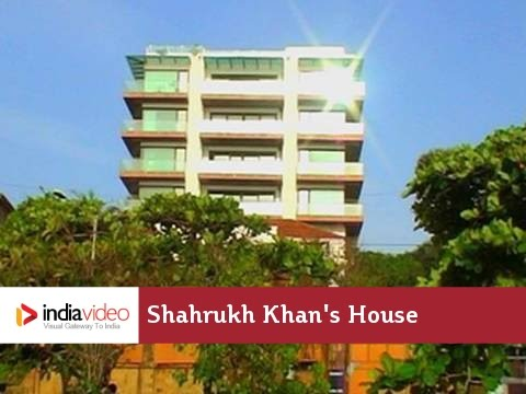 Mannat - Shahrukh Khan's house in Mumbai