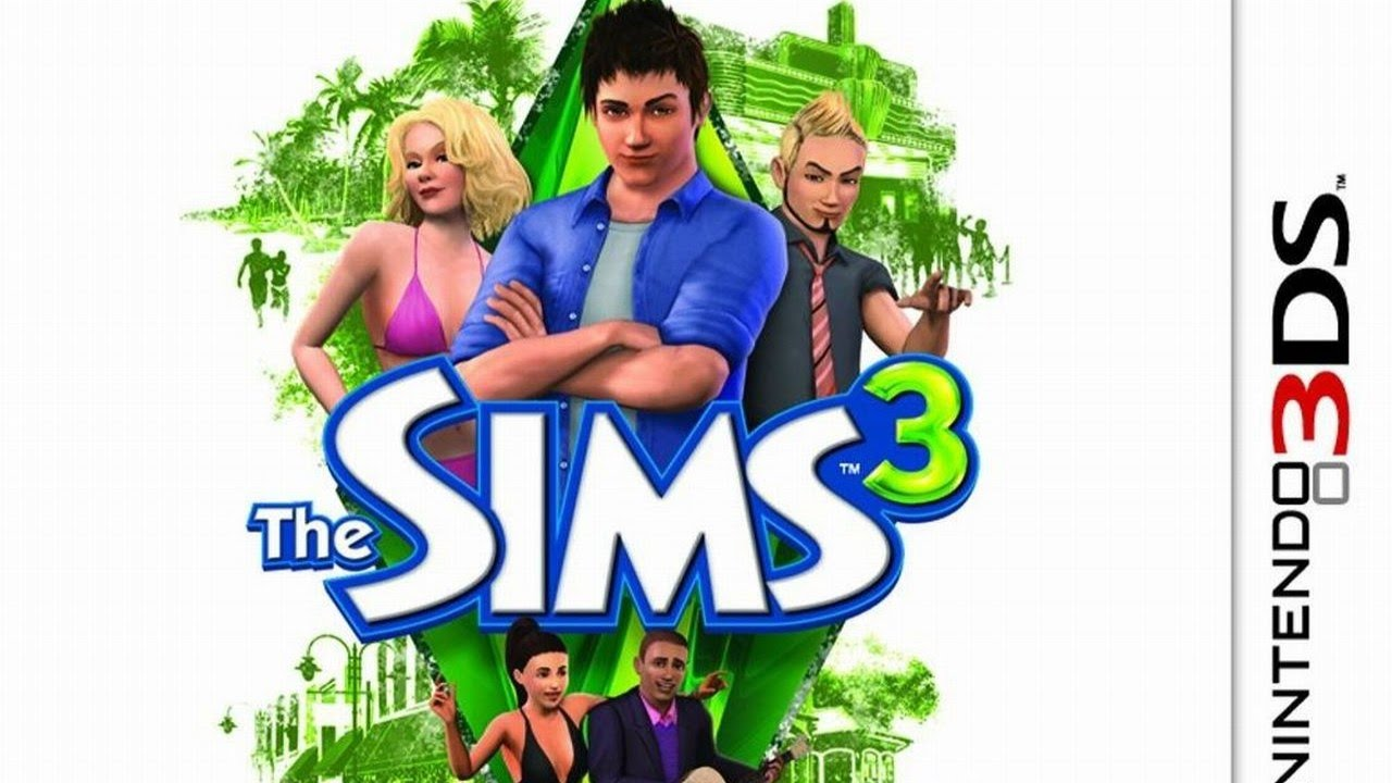 The Sims 3 Gameplay {Nintendo 3DS} {60 FPS} {1080p}