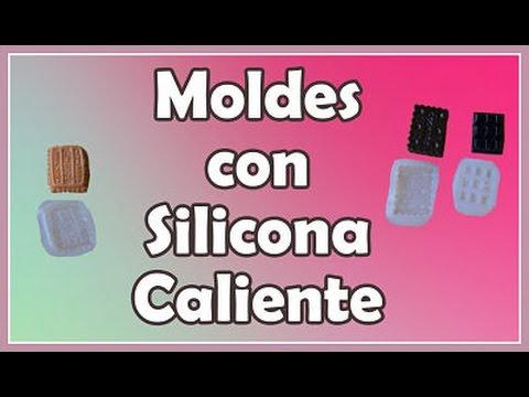 Moldes con silicona caliente youtube - Manualidades con silicona ...