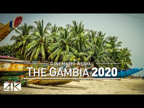 【4K】Drone Footage | THE GAMBIA ..:: Best of West Africa 2019