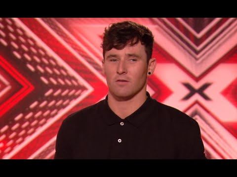 Garry Greig with POWERFUL voice covers Stevie Wonder's song - Auditions 4 - The X Factor UK 2016