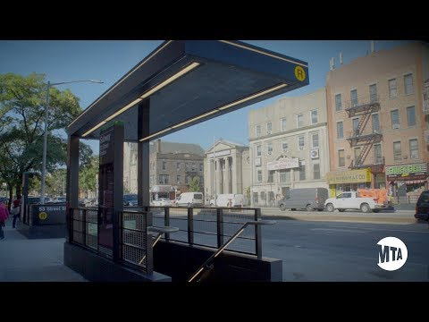 Enhanced Station Initiative: 53 St Station Grand Opening