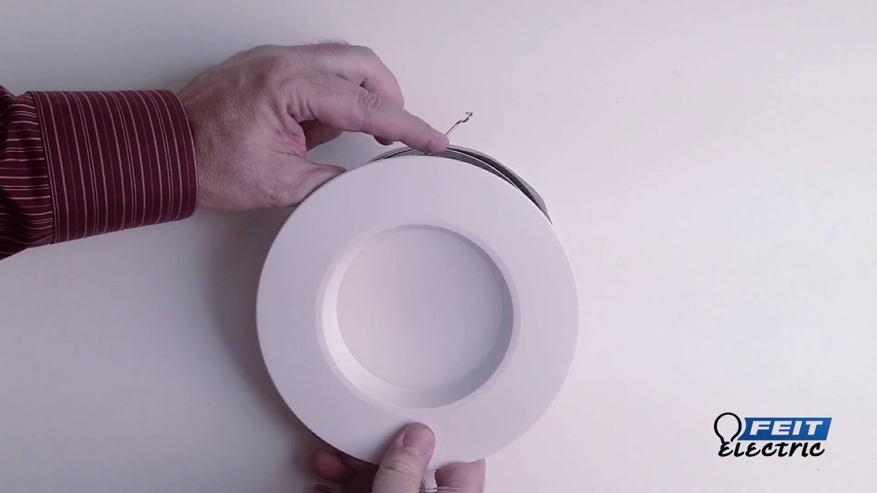 How To Install Led Can Light Retrofit Kits From Feit Ace Hardware