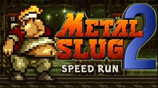 METAL SLUG 2 - 100% Complete Speed Run (All Secrets)
