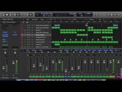 Calvin Harris - Slide (Logic Pro X)
