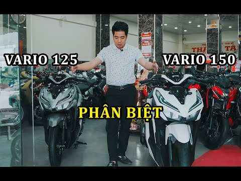 PHÂN BIỆT VARIO 125 VÀ VARIO 150 TRONG MỘT NỐT NHẠC - XE MÁY THÀNH TÂM