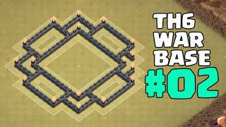 Clash of Clans - CoC TH6 War Base Anti Everything + Anti Giant & Healer With Air Sweeper