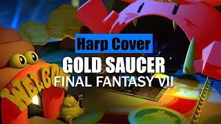 Final Fantasy VII - Gold Saucer [Harp Cover]
