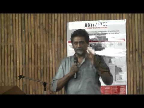 Jay Naidoo Adress Activate Showcase