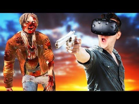VR Desert Zombie Adventure! - Arizona Sunshine Gameplay - HTC Vive