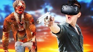 VR Desert Zombie Adventure! - Arizona Sunshine Gameplay - HTC Vive