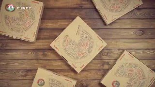 Новая коробка для пиццы от Папа Джон(Новая коробка для пиццы от Папа Джон. Легким движением руки, коробка превращается....в тарелки и коробку..., 2016-02-12T12:49:40.000Z)