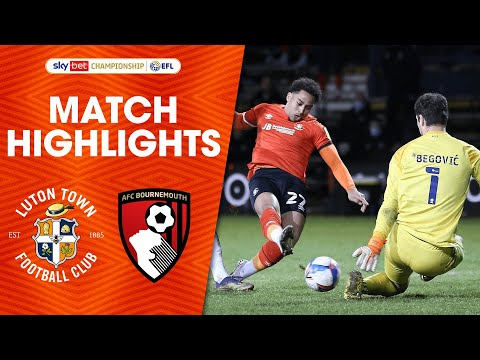 Luton Bournemouth Goals And Highlights
