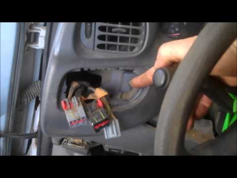 Headlight Switch Removal Ford F150, F250, Expedition 1997-2000 Instrument Cluster Install Remove