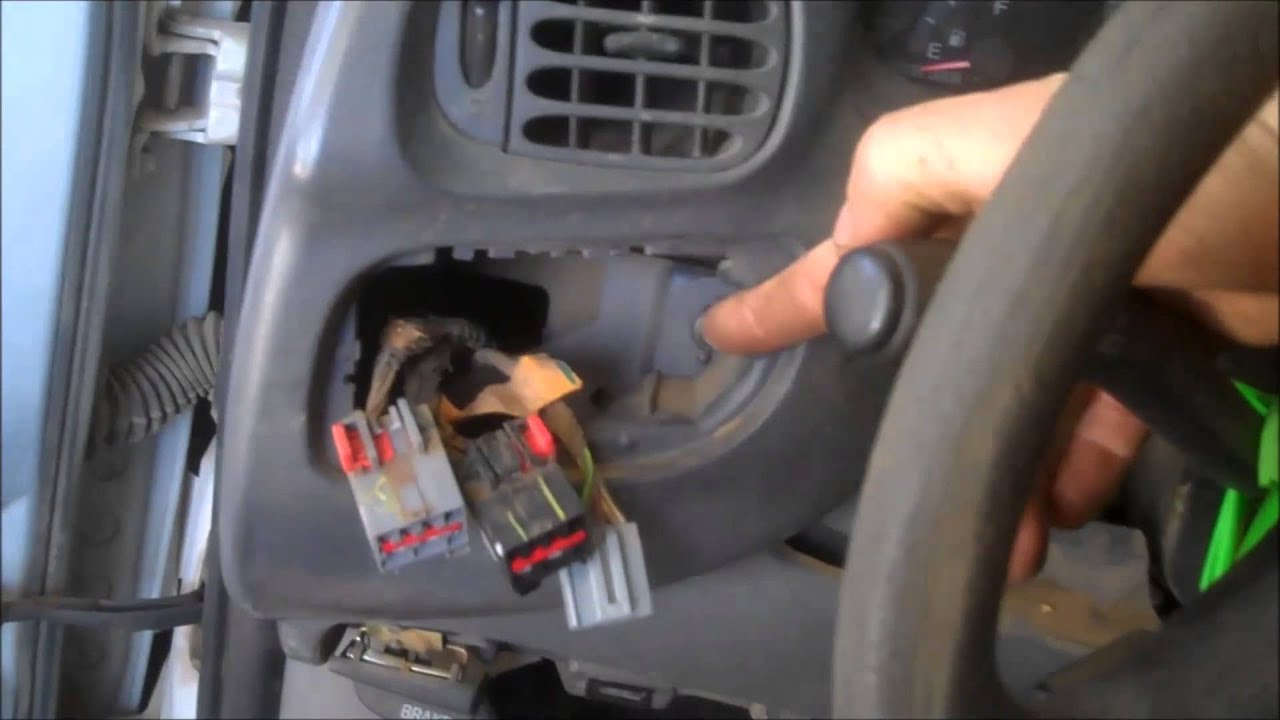 hight resolution of headlight switch removal ford f150 f250 expedition 1997 2000 instrument cluster install remove
