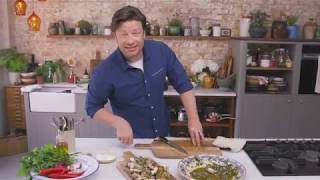 Chicken Under A Brick with Jamie Oliver Cast Iron by Tefal