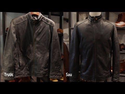 Làm Mới áo Da Tại Nhà Chỉ Với 3 Phút -GENTLEMAN-Leather For Man